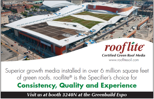 Connect with rooflite at Greenbuild 2012 - Booth 3240N