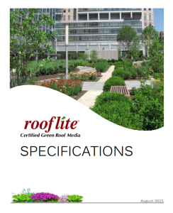Rooflite Specifications